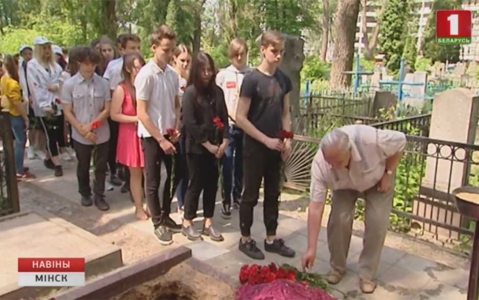 В столице перезахоронили останки четырех красноармейцев У сталіцы перапахавалі астанкі чатырох чырвонаармейцаў