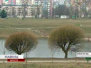 Апрель с зимней прохладой Красавік з зімовай прахалодай