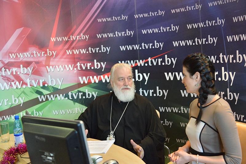 Онлайн-конференция с Митрополитом Минским и Заславским, Патриаршим Экзархом всея Беларуси Павлом