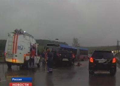 В России выясняют причины аварии, в которой погибли трое белорусов У Расіі высвятляюць прычыны аварыі, у якой загінулі трое беларусаў