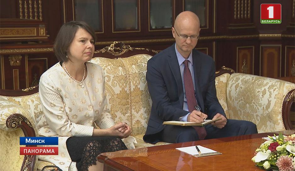 Развитие белорусско-британских отношений обсудили во Дворце Независимости