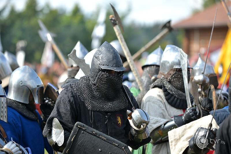 Реконструкция Грюнвальдской битвы
