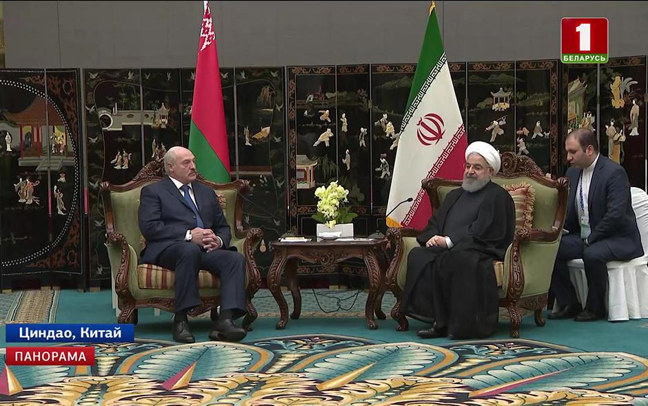 С президентом Исламской Республики Иран