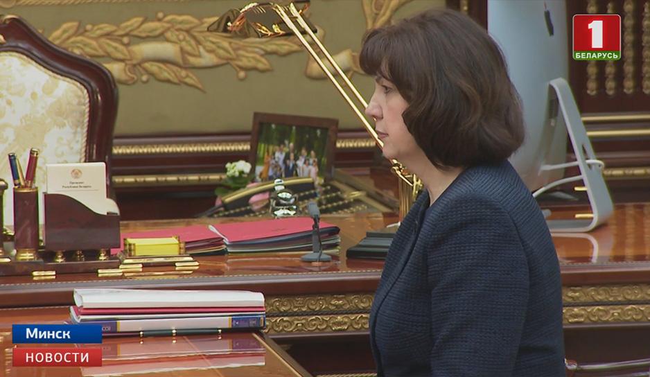 Александр Лукашенко встретился Натальей Кочановой
