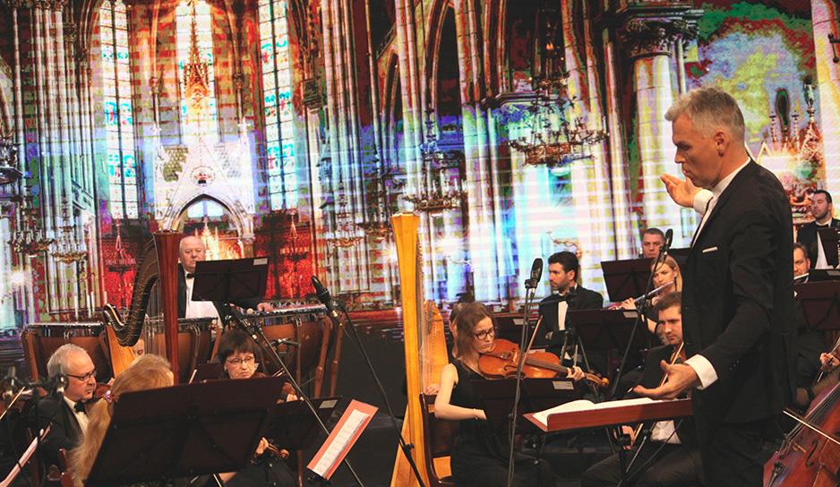 Вильгейс Кайтель и симфонический оркестр Белтелерадиокомпании