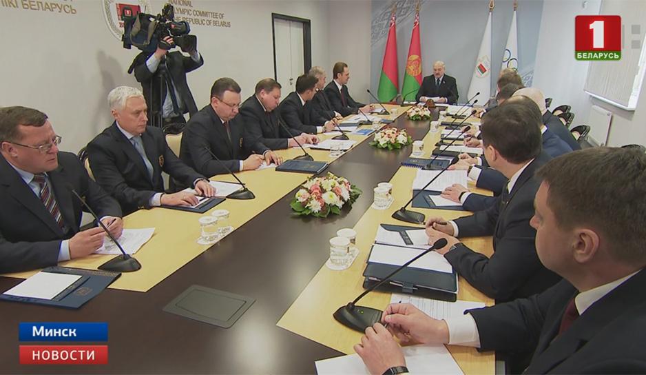 Виктор Лукашенко утвержден исполняющим обязанности первого вице-президента НОК