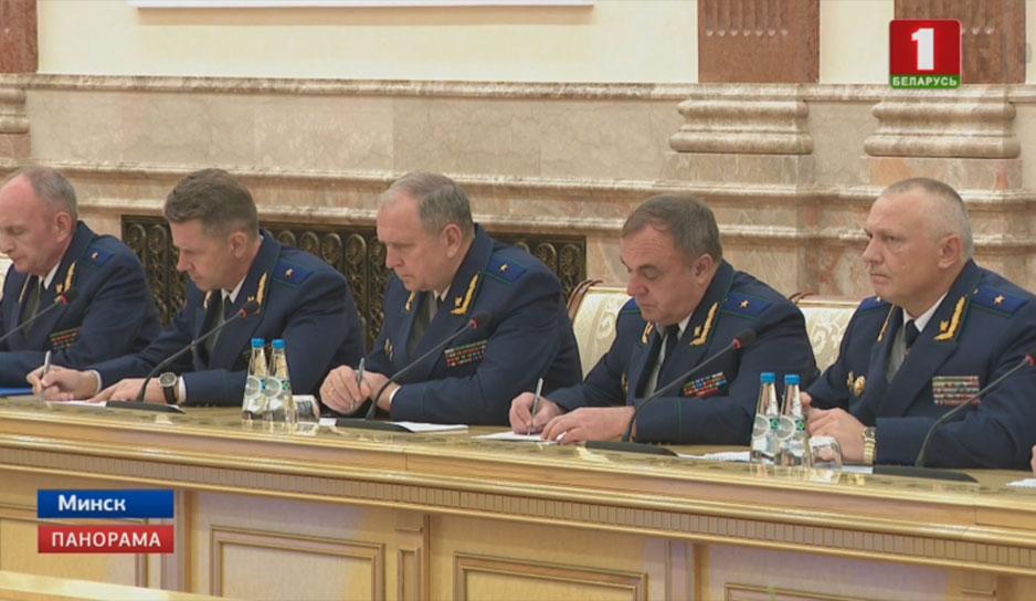 Президент Беларуси провел совещание по вопросу качества работы правоохранительных органов