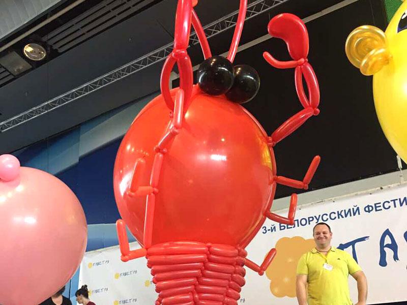 """Фестиваль воздушных шаров """"Паветра"""" пройдет в рамках выставки """"БэбиЭкспо"""""""