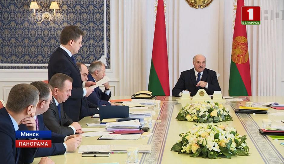 Александр Лукашенко провел совещание по интеграционному сотрудничеству