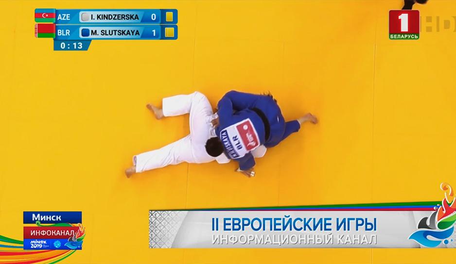 У белорусов первая медаль в дзюдо
