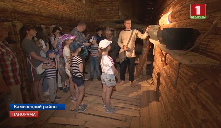 Археологический музей под открытым небом открылся в Беловежской пуще