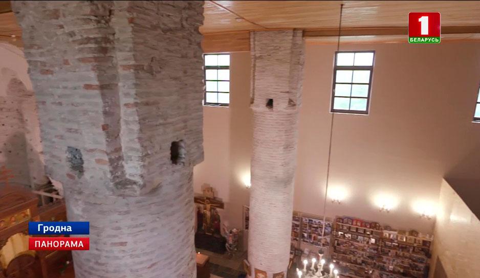 В Гродно завершается второй этап ремонтных работ в Коложской церкви