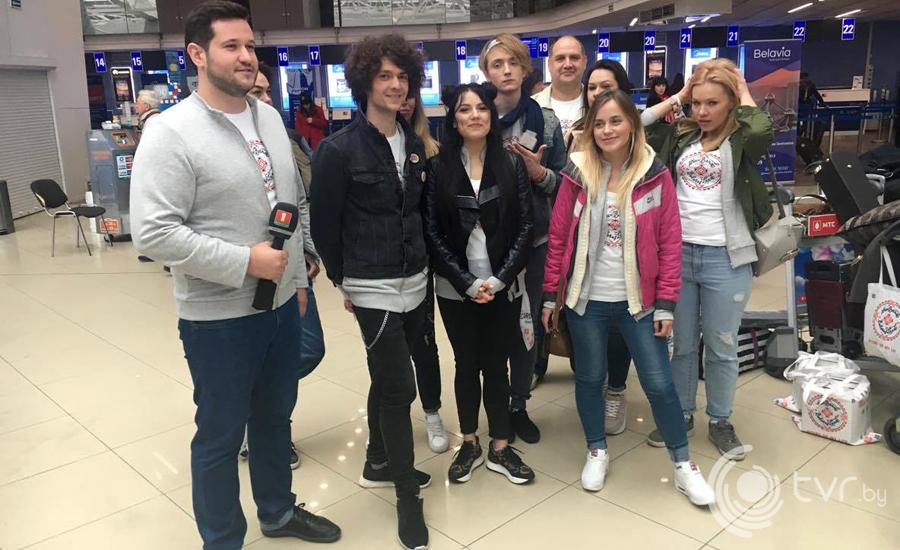 Команда NaviBand перед отлетом в Киев