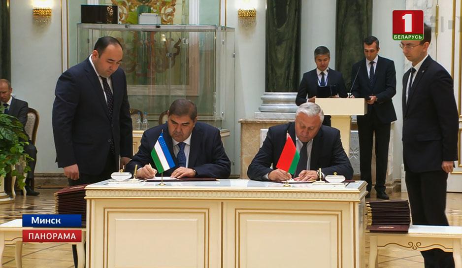 Минск и Ташкент расширяют дорожную карту договоренностей