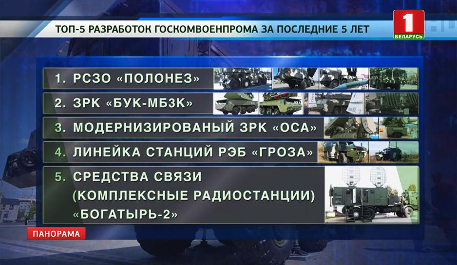 Топ-разработок Госкомвоенпрома