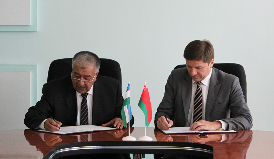 Memorandum signed between Belteleradiocompany and National Television and Radio Company of Uzbekistan