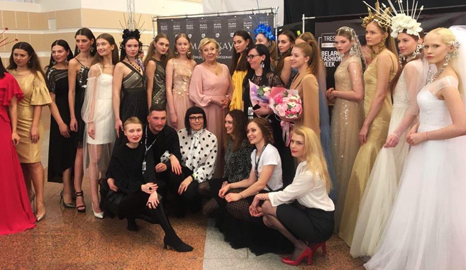 Елена Белова приняла участие в Belarus Fashion Week-2019