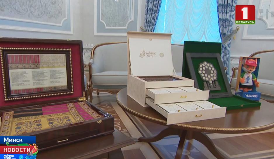 Стратегическое партнерство Минска и Душанбе. Встреча президентов во Дворце Независимости