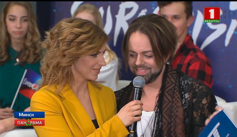 С Инной Пилевич финалисты делились первыми впечатлениями