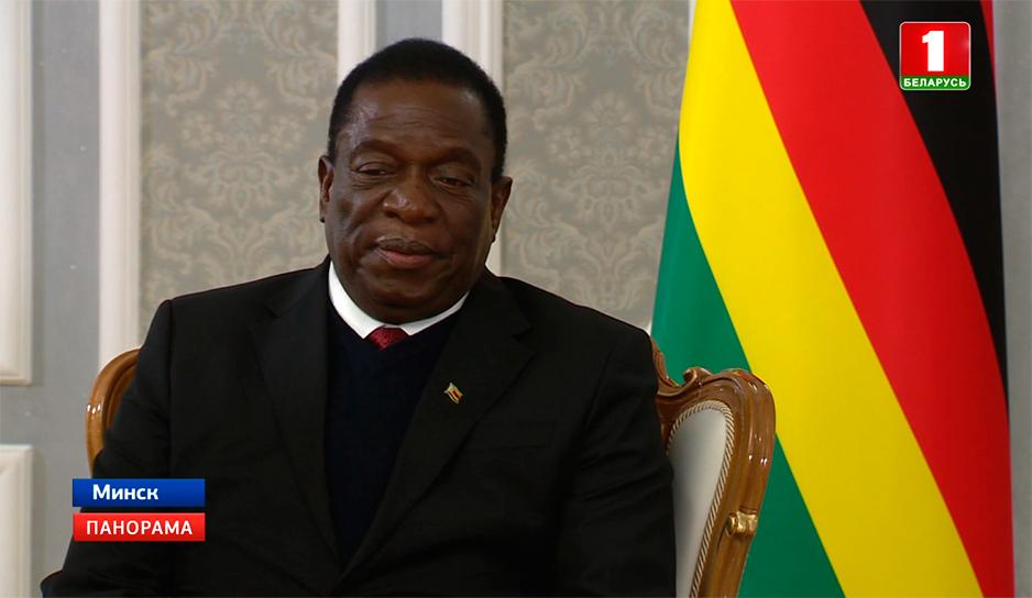 Эммерсон Мнангагва, Президент Зимбабве