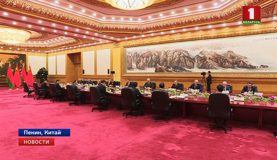 Развитие сотрудничества при особом доверии: переговоры Александра Лукашенко и Си Цзиньпина
