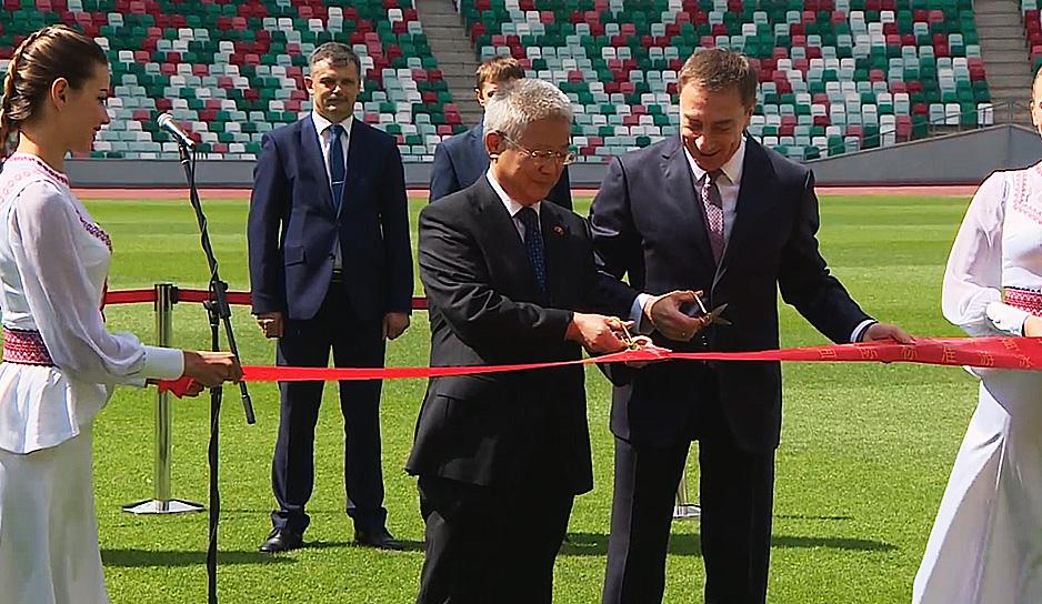 Стадион станет символом дружбы Беларуси и Китая