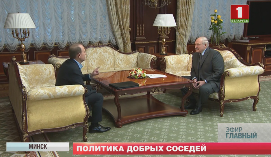 Президент на встрече с украинским политиком