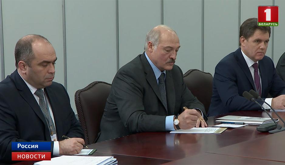 Отношения Минска и Москвы находятся на высоком уровне