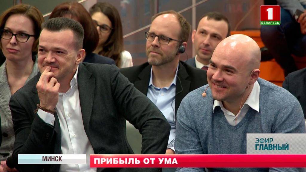 Один из лидеров IT-движения Беларуси - Виктор Прокопеня.