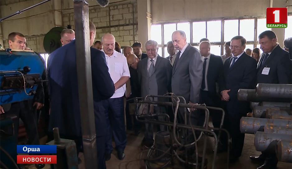Президент посетил Оршанский инструментальный завод