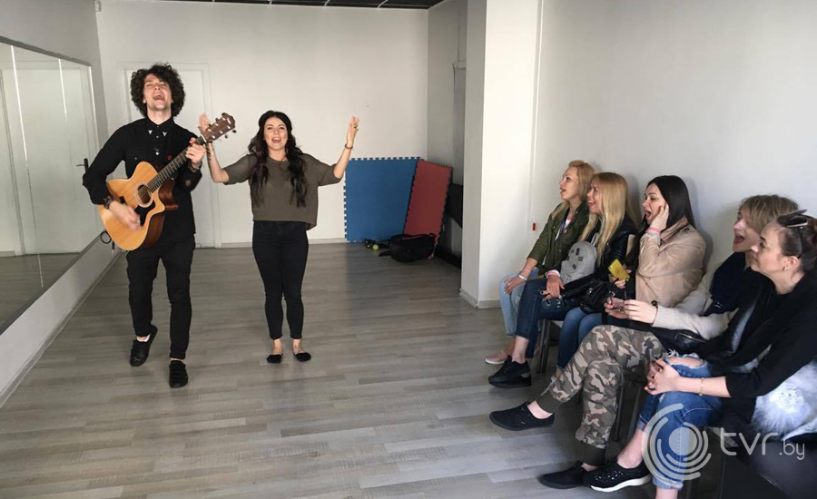 Репетиция с хореографом Татьяной Островерх