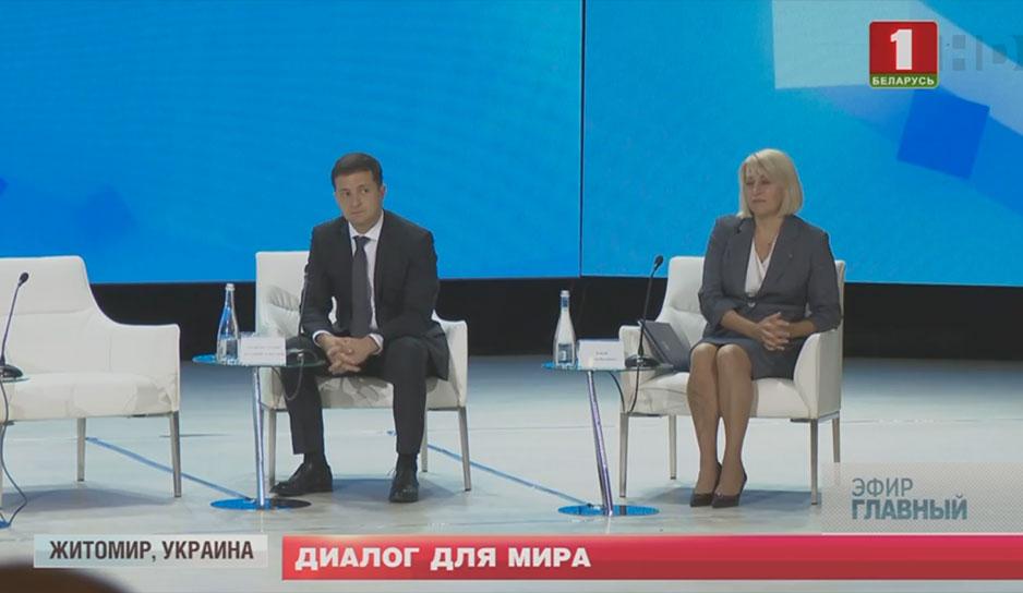 Вопрос Президенту: что вынесли из первых больших переговоров в Житомире с Владимиром Зеленским?