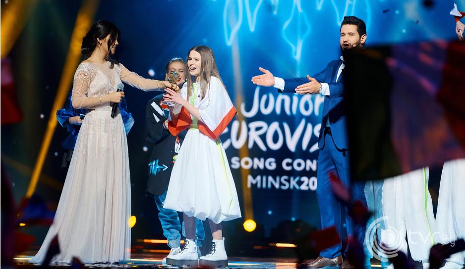Роксана Венгель, победительница детского Евровидения 2018