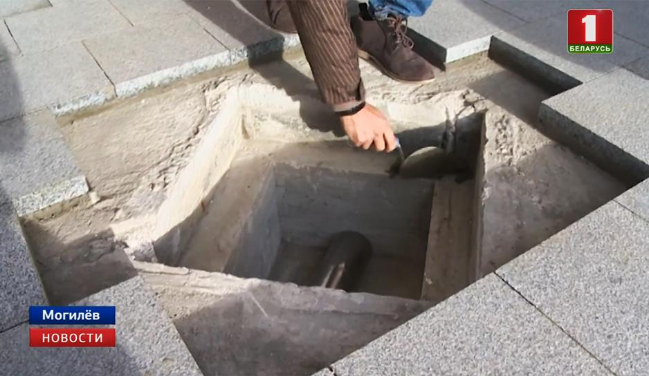 В основании арки в Могилеве заложена капсула с посланием