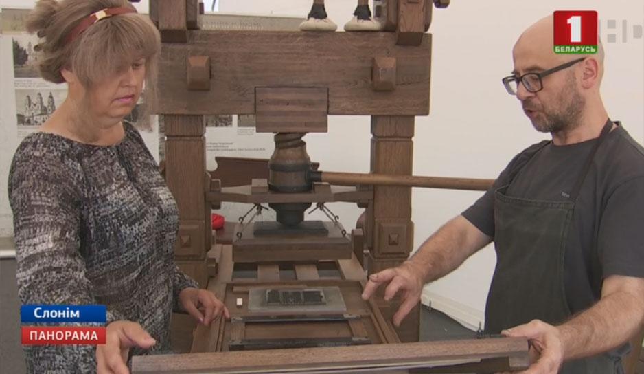 Особой популярностью пользовались интерактивные площадки. Каждый мог попробовать свои силы в печатании книг по технологиям XVI столетия.