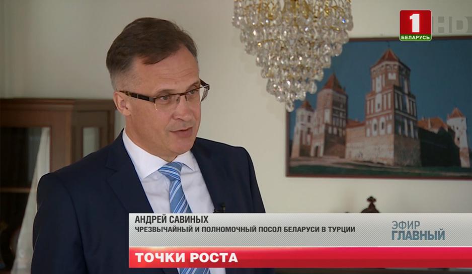 Андрей Савиных, Чрезвычайный и Полномочный Посол Беларуси в Турции