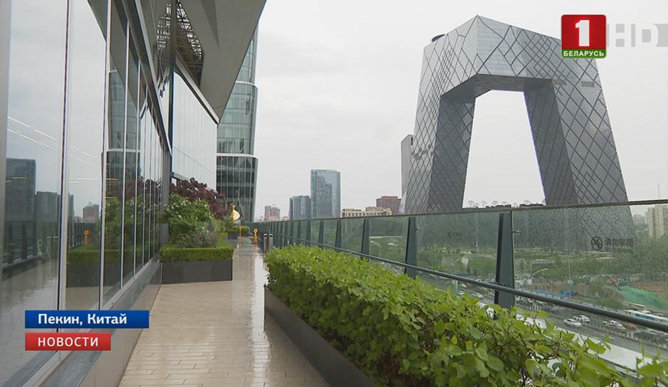 Дождь и ветер – вот такая погода в Пекине