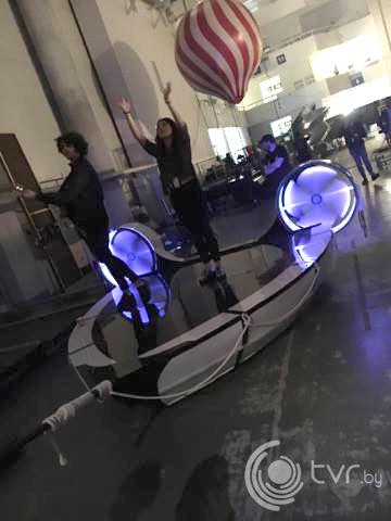 Платформа для выступления - лодка 3 на 3 метра