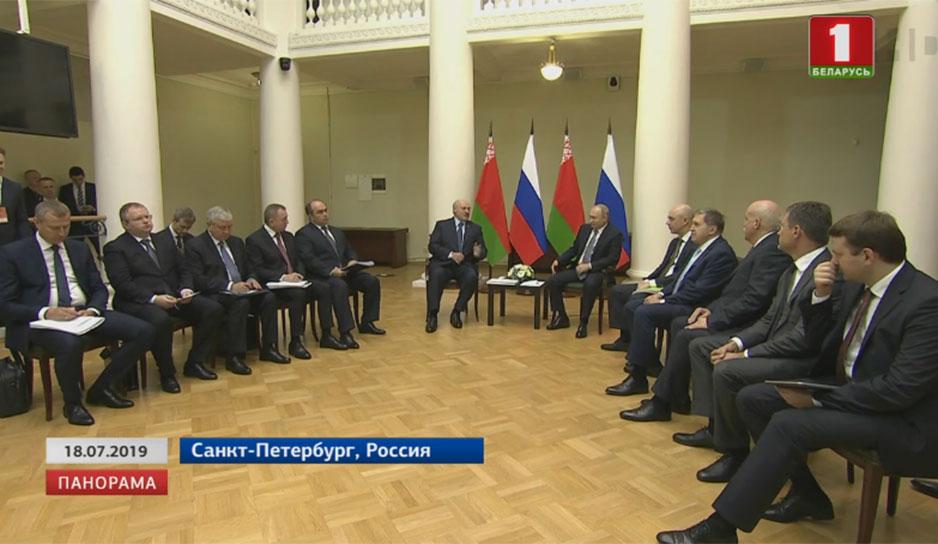 Петербурге был подписан действительно широкий пакет контрактов