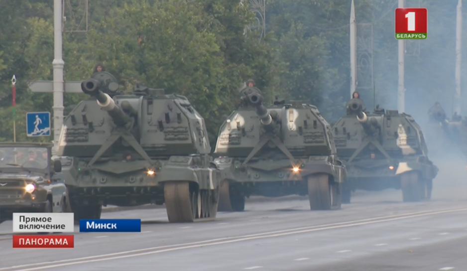 В генеральной репетиции примут участие 250 единиц боевой техники