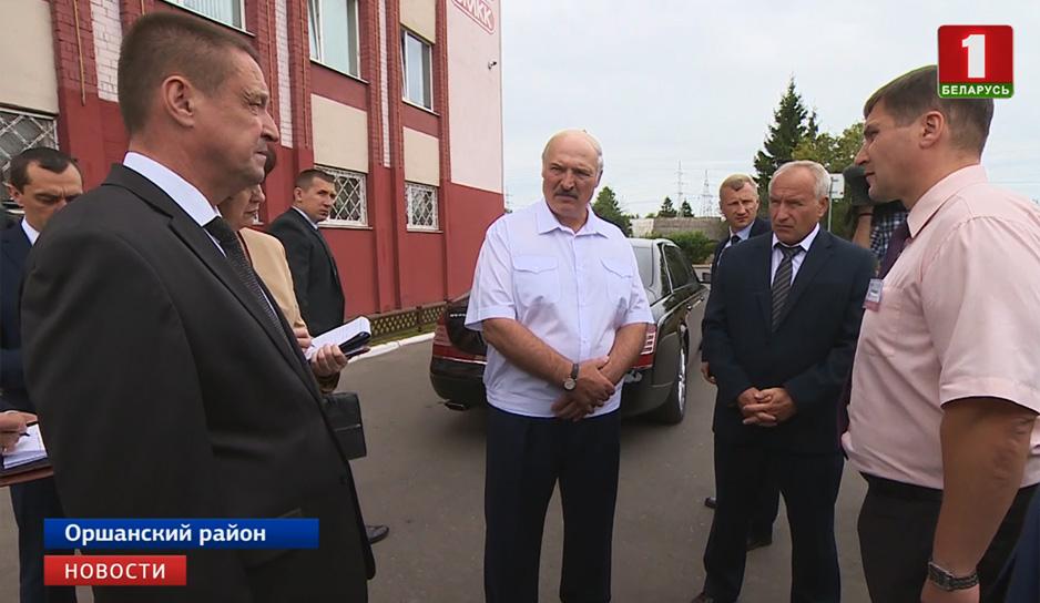 Президент раскритиковал чиновников за недолжную работу предприятий Оршанского района