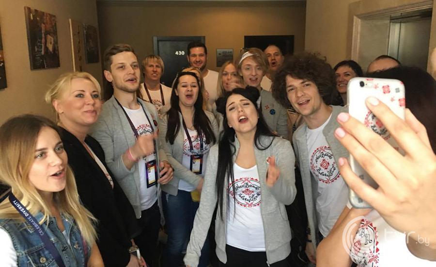 Команда NaviBand с поздравлениями из Киева