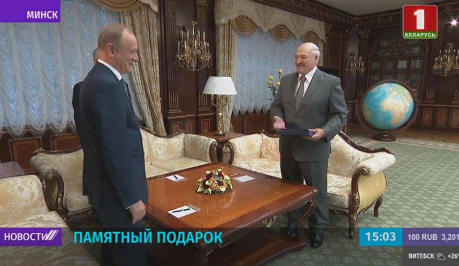 Встреча Президента с секретарем Совбеза России