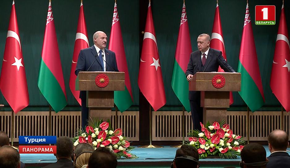 Отношения Минска и Анкары выходят на новый уровень сотрудничества во всех сферах