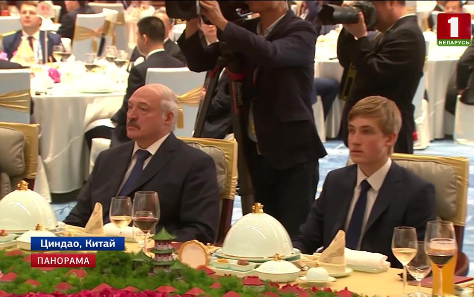 Ужин для глав государств и руководителей международных организаций