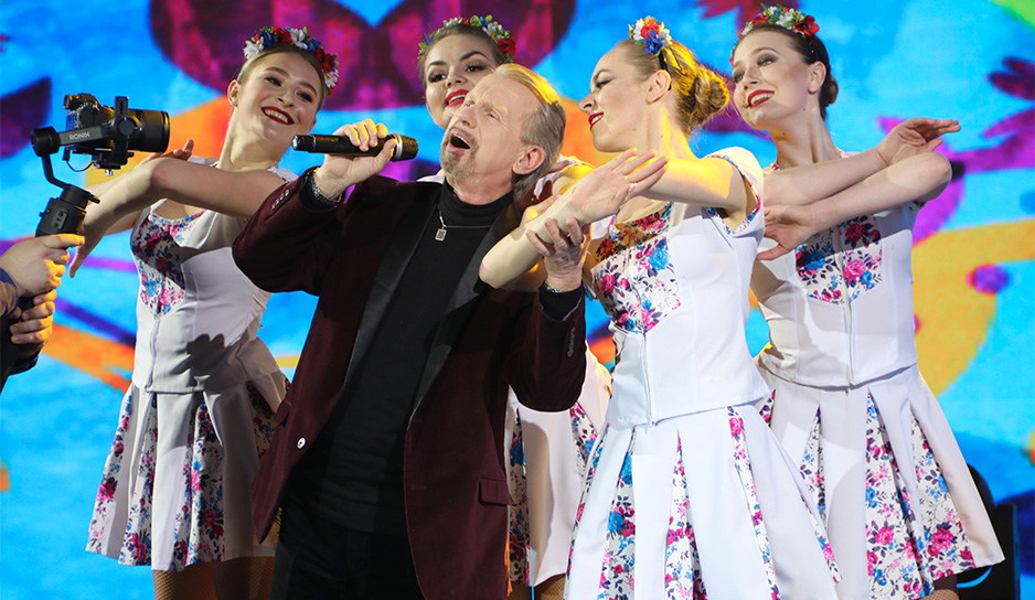 """Юбилей Олега Молчана на """"Беларусь 3"""""""