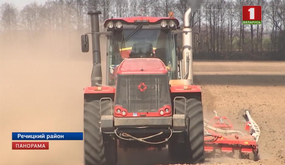 Аграрии всей страны активно включились в весенне-полевую кампанию