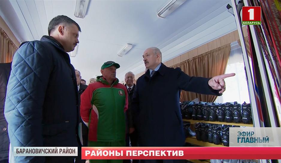 Президент посетил с рабочим визитом Барановичский район