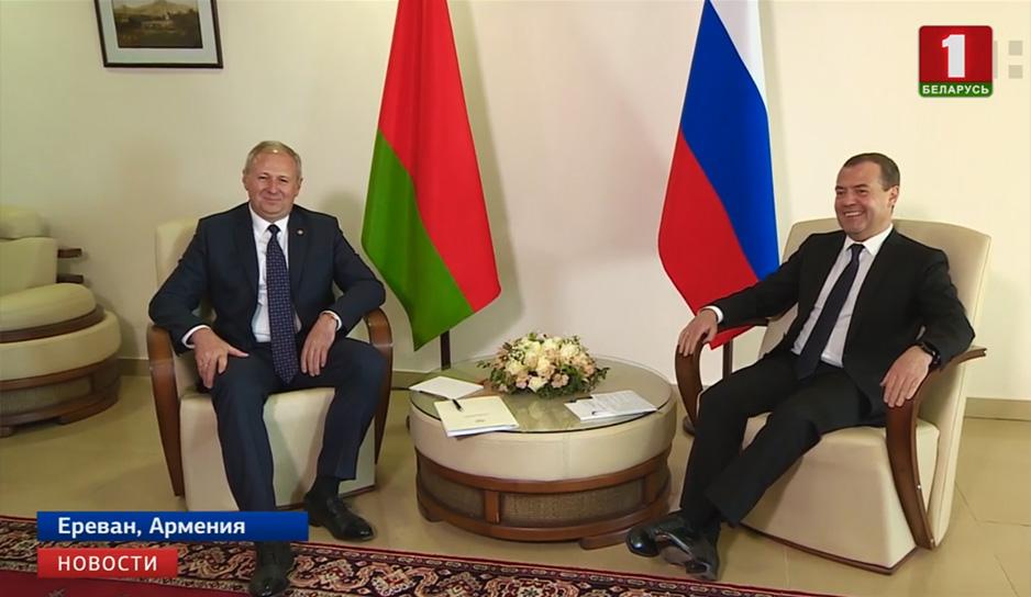 Премьер-министры Беларуси и России обсудили интеграционные вопросы