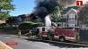 В Вирджинии медицинский вертолет упал на жилой дом
